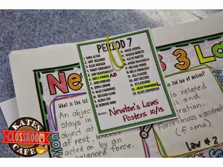 Mini class lists for keeping track of missing assignments. Perfect for teachers balancing multiple classes!