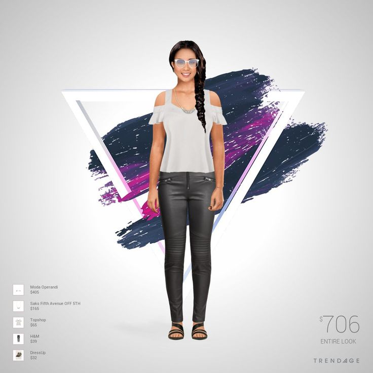 Look created with Trendage Fashion!