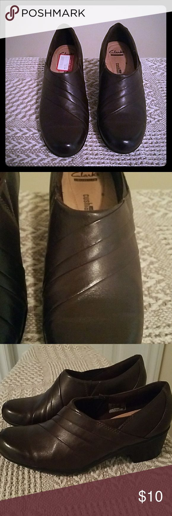 Clark's shoes Chocolate Clark's loafersclar Clarks Shoes Flats & Loafers