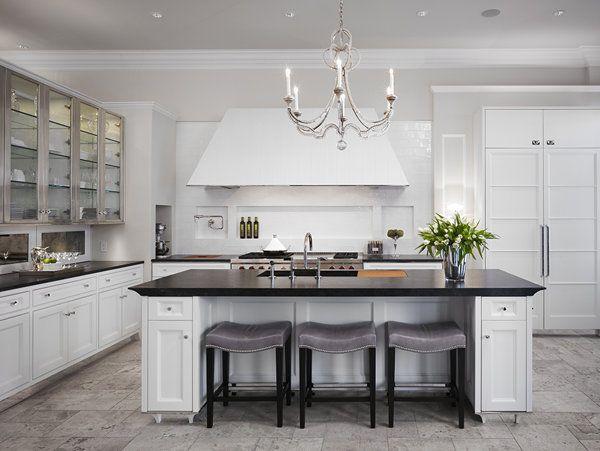 kitchen..  floor   cabinets
