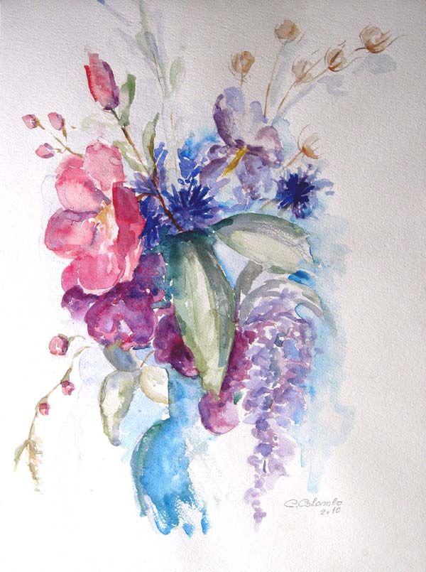 17 migliori idee su disegni di fiori su pinterest for Disegni di fiori a matita