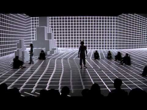 Amazing Dance Performance Using Projection Mapping! - Bloggedd
