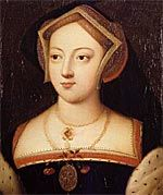 Mary Boleyn. Sister to Anne Boleyn and a mistress to King Henry VIII before he became interesed in Anne. She was also supposedly a mistress to Francois I of France. Mary was first married to William Carey who died of the sweat. She later married a man far below her rank, a soldier William Stafford causing them both to be banned from court.