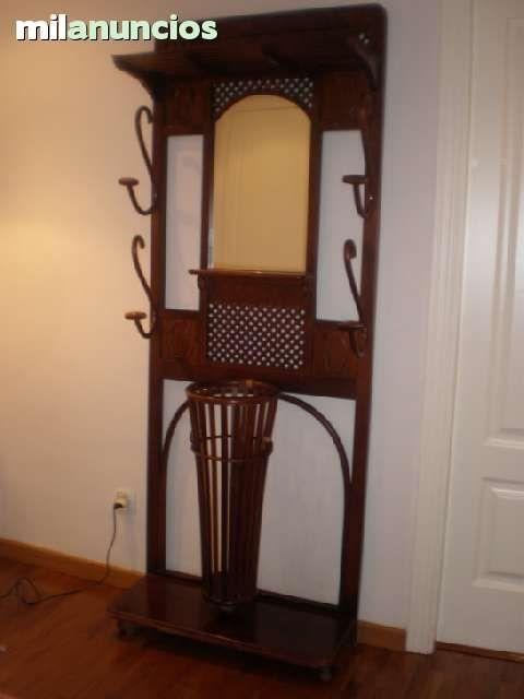 Mueble recibidor perchero parag ero foto 1 - Perchero recibidor antiguo ...