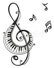 Noten Notenschlussel Musiknoten Musik Musiknoten Kunst Musiknoten Musik Deckblatt