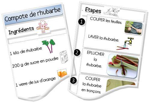 Plein de recettes illustrées pour les enfants !