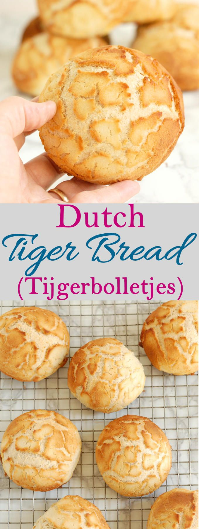 Learn how to make super-crunchy Dutch Tiger Bread (tijgerbolletjes) from scratch. The secret to the crunchy topping is surprisingly easy!