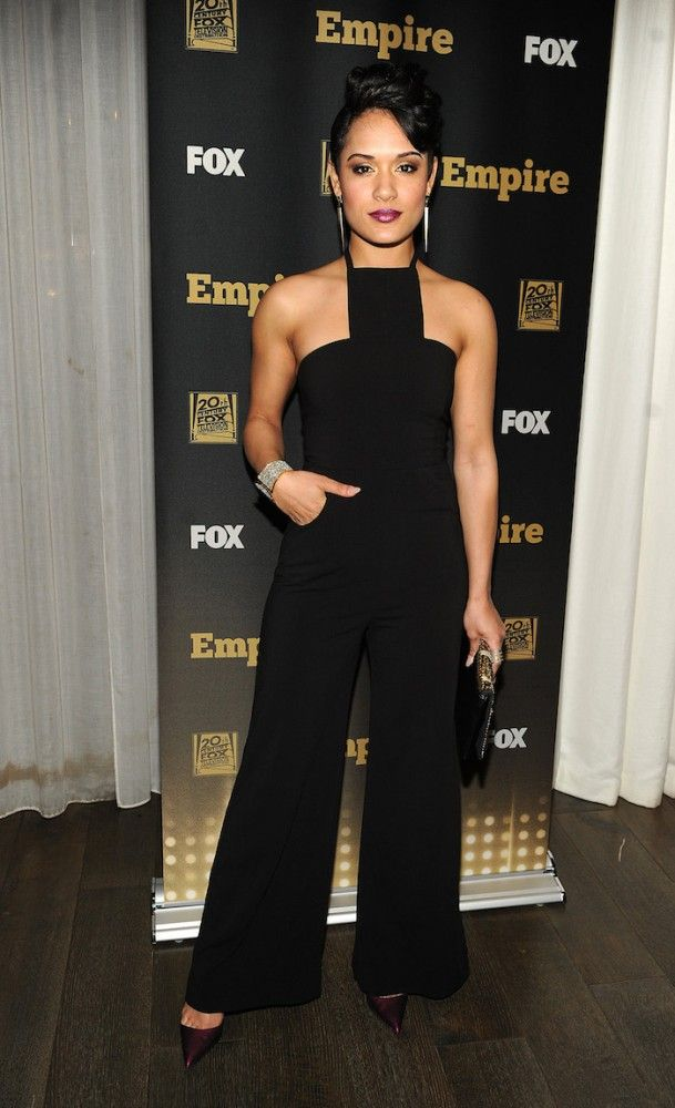 Killin it in this jumpsuit----Grace Gealey...aka Anika on the show EMPIRE ---->