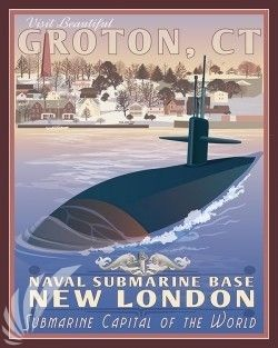 Naval Submarine Base New London Archives - Squadron Posters