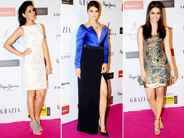 Last night, the biggies of B-town made heads turn, as they walked the red carpet, looking fabulous as ever. Dazzling in designer wear at the Grazia Young Fashion Awards night, the glitterati included the likes of Priyanka Chopra and Jacqueline Fernandez. Who do you think is the best dressed of the lot? Image courtesy: BCCL/IANS Don't Miss! L'Oreal Paris Femina Women Awards 2015
