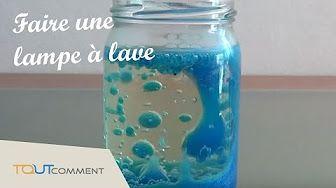 Lampe à lave (bicarbonate et vinaigre, chapitre 1) : expérience scientifique simple ! - YouTube