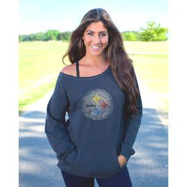 Pittsburgh Steelers Women's Off the Shoulder Sideliner II Oversized Fleece - Official Online Store