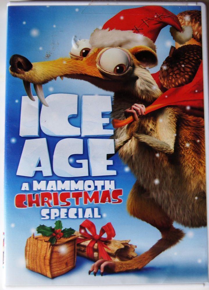 Ice Age A Mammoth Christmas.Ice Age A Mammoth Christmas Special Dvd 2011 Cartoon