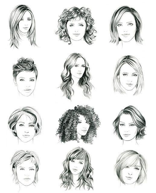 illustration lidia luna - hairstyle