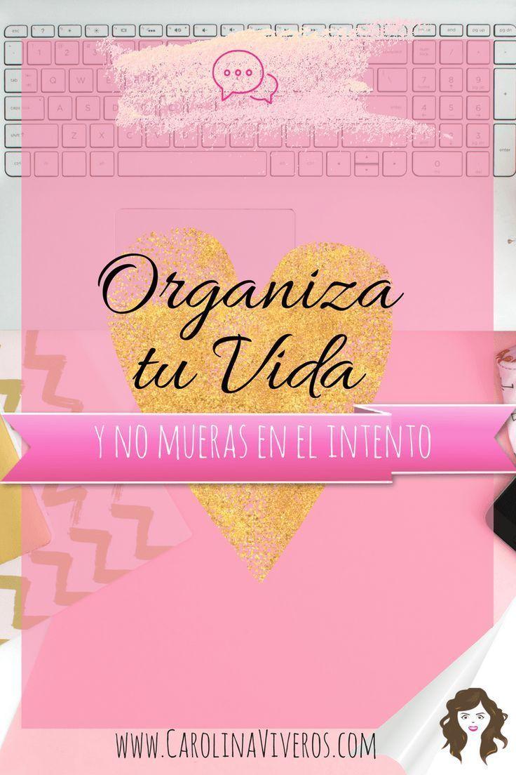 Organiza tu vida