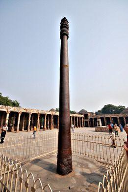 Iron pillar of Delhi – New Delhi, India | Atlas Obscura