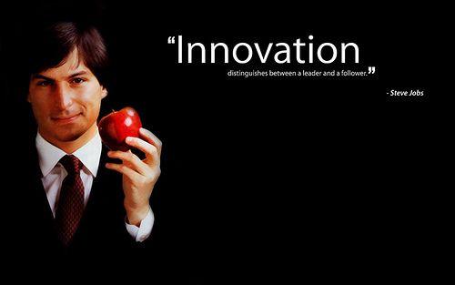 inovasi membedakan mana pemimpin dan mana pengikut, kamu setuju dengan kutipan Steve Jobs tersebut?