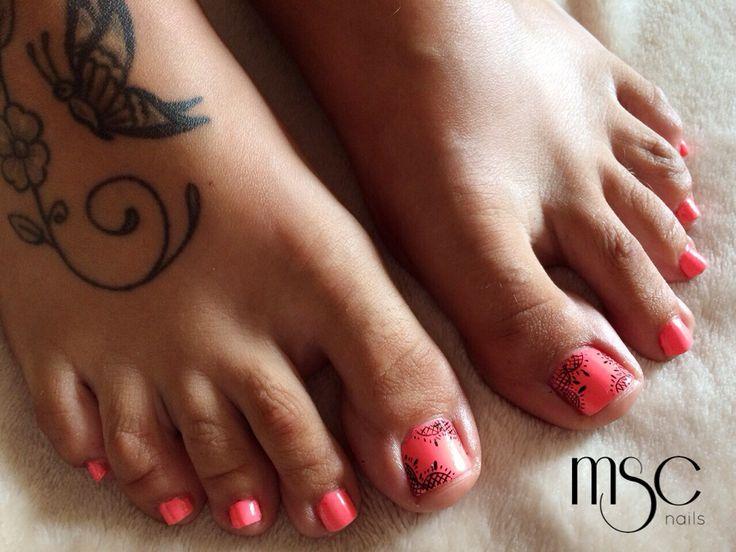 #pedicura #pedicure #nailart #lace #encaje #uñas #nails #nailart