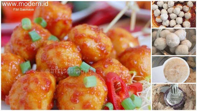 Resep Pentol Ayam Pedas Manis Rumahan Bebas Formalin Satu Resep Jadi Banyak Modern Id Makanan Resep Makanan Ayam