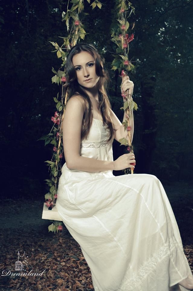 Woodland/Fairy photography #fairy #forest #swing #flower #photography #portrait