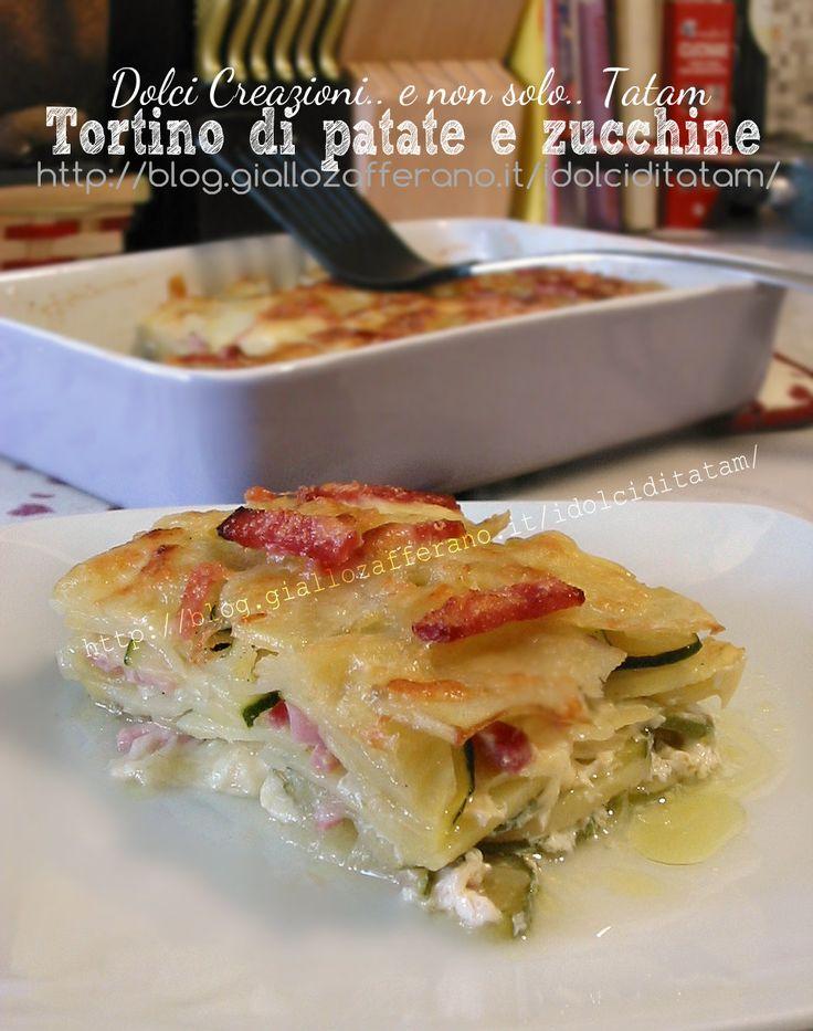 sformato di patate e zucchine