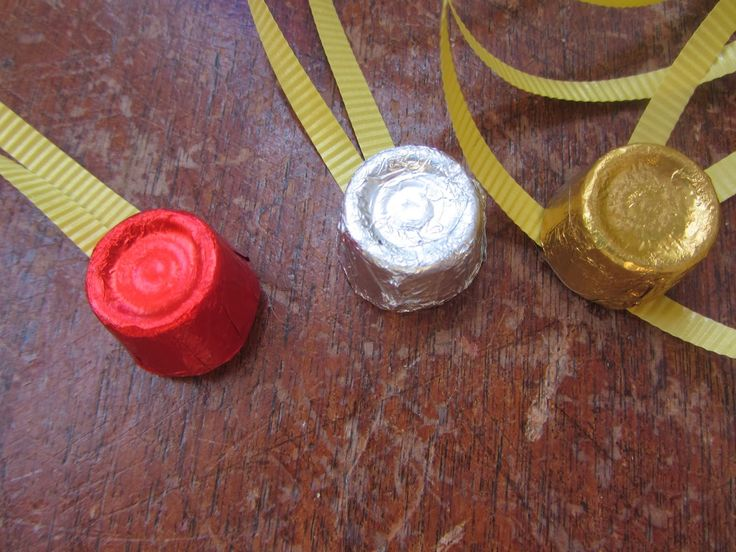 Chocolate Olympic Medals