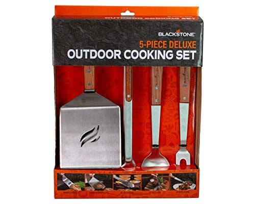 5-Piece Griddle Cooking Toolkit BBQ Grill Accessories Outdoor Cookware