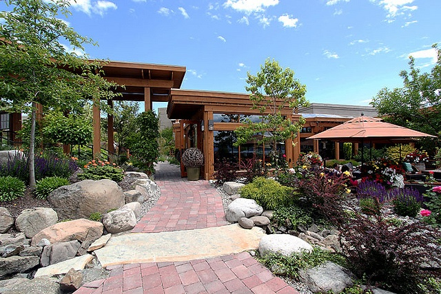 quails gate winery landscaping by Lazarowich, via Flickr