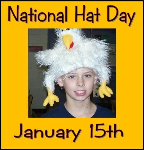 Why did the chicken cross the road?  To get to Hat Day, of course.  Read all about Hat Riddles here.  Tons of fun!
