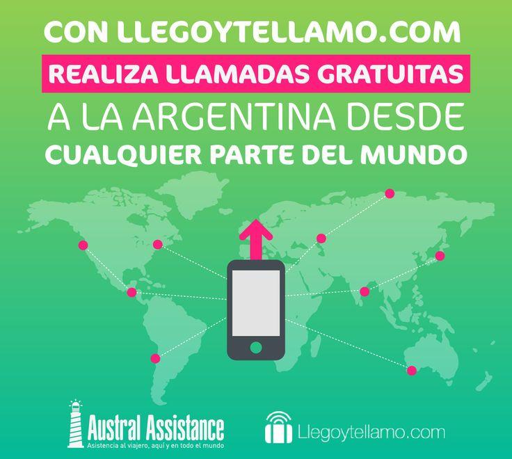 Llegoytellamo.com ---> Austral Assistance - Asistencia al viajero, aquí y en todo el mundo. www.australassistance.com