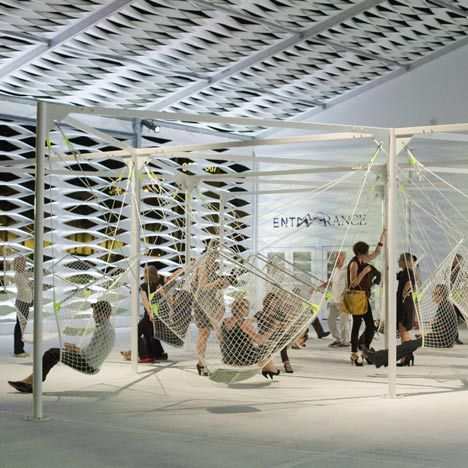 'Netscape' by Konstatin Grcic - Installation commisioned by Design Miami