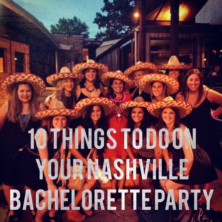 Go ahead, get those matching tanks printed up and tell your girls to get ready for a weekend full of memories. Here are the top 10 things to do on your Nashville Bachelorette Party!