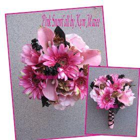 Fabulous Fakes: Camo Wedding Flowers & Ribbon