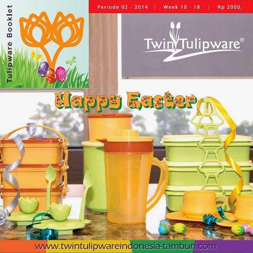 Booklet Twin Tulipware Maret - April 2014   Twin Tulipware SC. Tambun