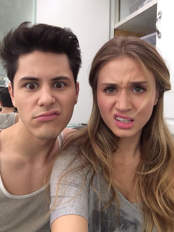 I actually just love them <3 Michael Willett & Rita Volk, MTV Faking It