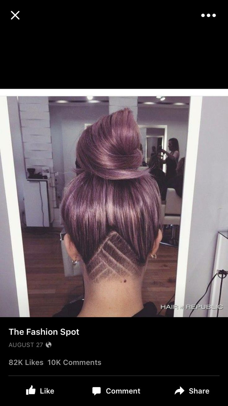Another undercut, so cool!