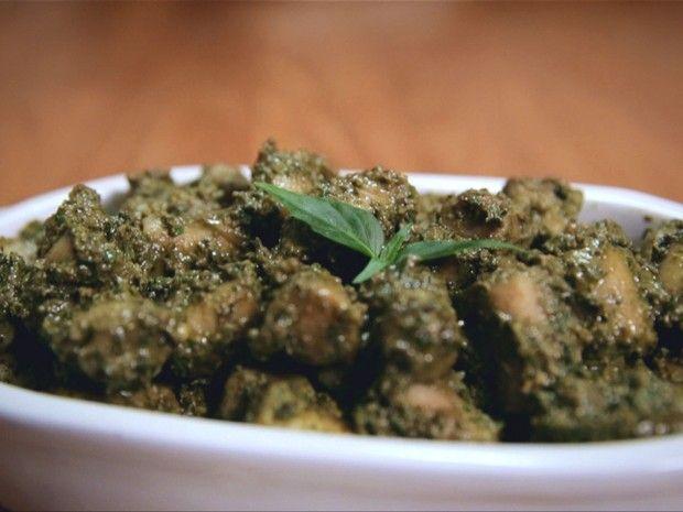 nhoque de inhame ao pesto: receita da Bela Gil para o Bela Cozinha (Foto: Reproduo/GNT)