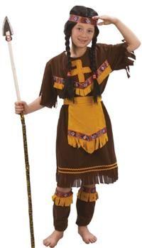 Kızıderili Kostümü. Kız Çocuk 7-9