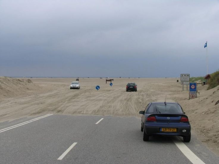 Rømø - Met de auto op het strand