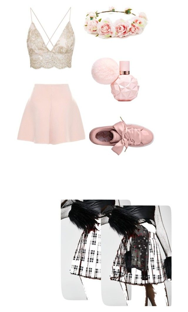 """""""Cute Going Out Look"""" by kittywuvsya ❤ liked on Polyvore featuring rag & bone, Tripp, RED Valentino and Forever 21"""