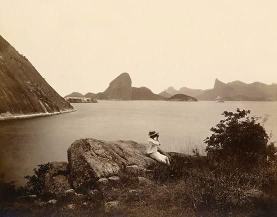 Cidade do Rio de Janeiro vista de Niterói no século XIX. Realmente um cenário…
