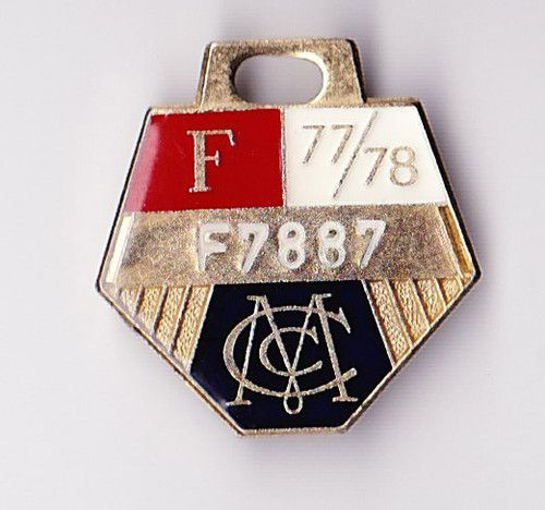 Full Member Badge 1977-78