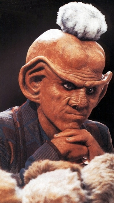 Quark among tribbles. AKA Principal Snyder from Buffy. He's everywhere.