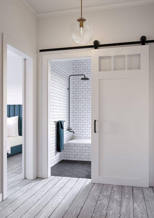 Perfect Bathroom Sliding Door 9 In 2020 Sliding Door Design Room Door Design Room Doors