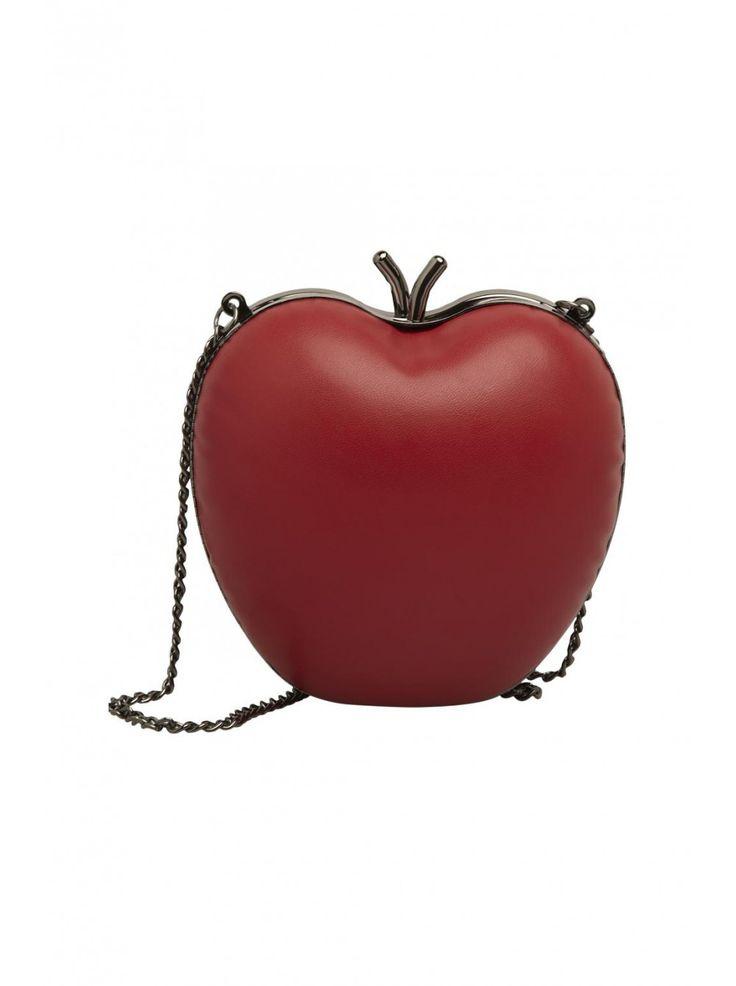 Sac pomme rouge - ceintures femme - naf naf