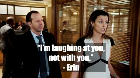 Bridget Moynahan as Erin Reagan - Blue Bloods on CBS