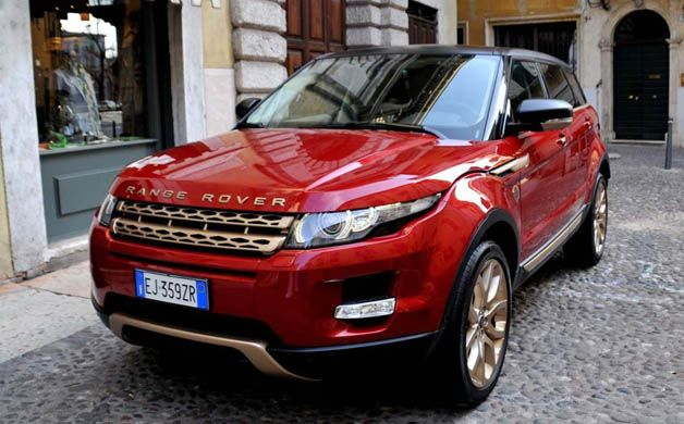 The special edition Evoque for Bollinger Champagne
