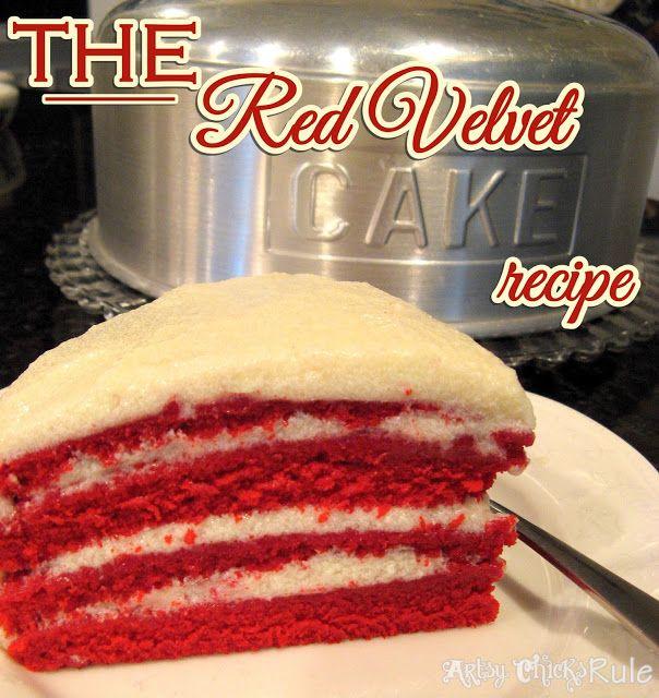 The REAL Red Velvet Cake Recipe (the secrets in the frosting!) Christmas dessert