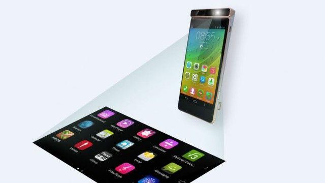 Un smartphone Lenovo ar putea proiecta un ecran tactil pe orice suprafaţă