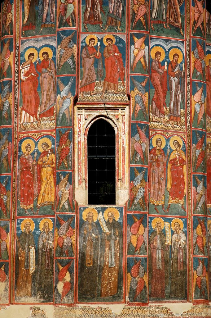 Moldovita Monastery, Southern Bucovina, Romania   Flickr - Photo Sharing!